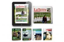 La Terre de Chez Nous, Combiné Papier et Virtuel, 3 ans, 153 numéros