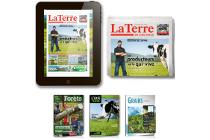 La Terre de Chez Nous, Combiné Papier et Virtuel, 1 an, 51 numéros