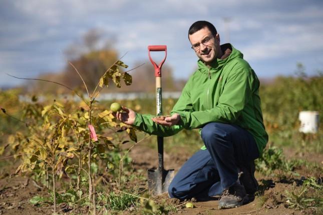 Marc-Olivier Harvey a fait annuler la décision de la CPTAQ et peut maintenant poursuivre le développement de son entreprise agricole. © Martin Ménard