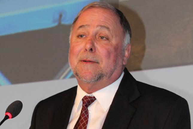 Le ministre québécois de l'Agriculture, Pierre Paradis. © Jean-Charles Gagné