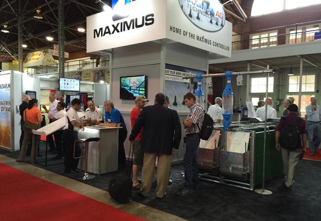 Kiosque de Maximus à la World Pork Expo 2015 © Maximus
