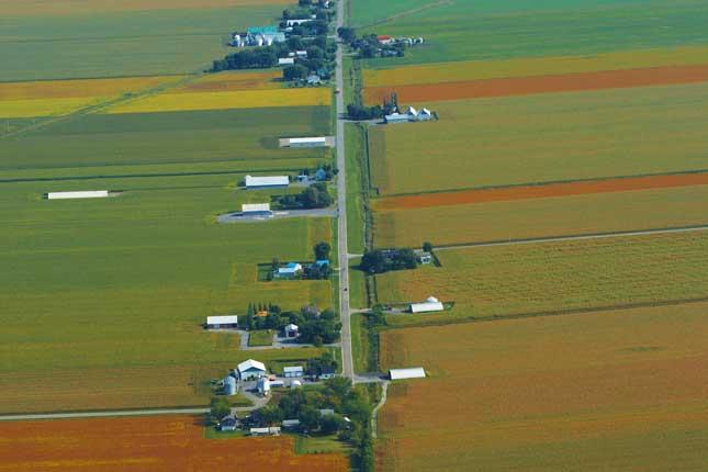 La valeur moyenne des terres en culture au Québec a grimpé de 27% de 2013 à 2014, une hausse préoccupante selon l'économiste en chef de l'UPA, Charles-Félix Ross. © Martin Ménard