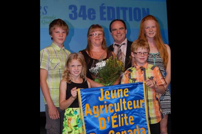Les Sirois-Bilodeau, des gens très fiers. © Pierre Saint-Yves