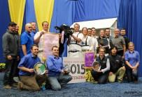 La Ferme Jacobs de Cap-Santé a remporté le titre de Meilleur Éleveur Holstein à la World Dairy Expo de Madison. Crédit photo : Holstein Québec