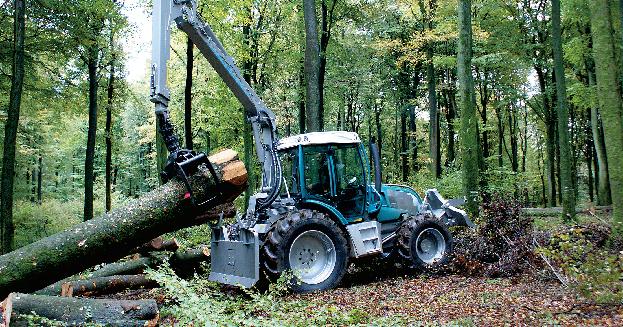 tracteur forestier pfanzelt