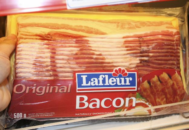 Le bacon est l'un des produits qui devraient trouver une place sur le marché indien dans le secteur de la restauration ou de l'hôtellerie. Crédit photo : Archives/TCN