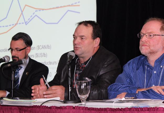 Simon Trépanier, directeur général, Serge Beaulieu, président, et Paul Rouillard, directeur général adjoint. Crédit photo : Pierre-Yvon Bégin/TCN