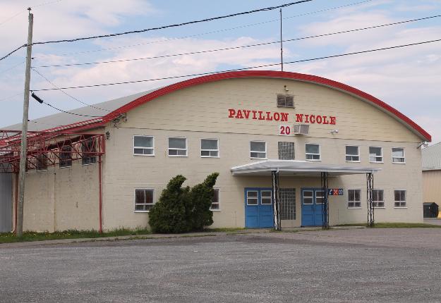 Site de la 62e édition de l'Expo provinciale de Montmagny en 2013. Crédit photo : Archives/TCN