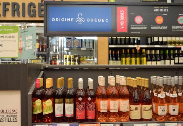 « En 2011-2012, on vendait 170 000 bouteilles de vin. Le fait qu'aujourd'hui on en vende environ 532 000, c'est une belle remontée », explique la SAQ. Crédit photo : Myriam Laplante El Haïli/TCN