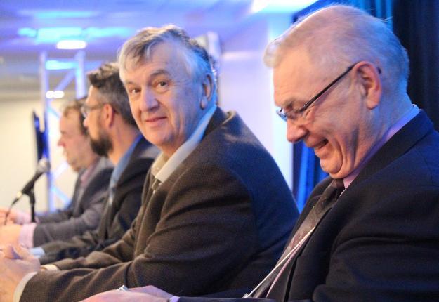 En novembre dernier, Gérald Morin a tenu à assister à l'assemblée générale annuelle de la Fédération des producteurs acéricoles du Québec. Crédit photo : Archives/TCN