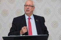 Pierre-Marc Johnson s'attend à la ratification de l'accord de libre-échange avec l'Union européenne dès le mois d'octobre prochain. Crédit photo : Thierry Larivière/TCN