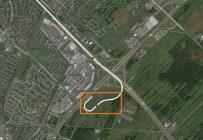 Une filiale de la Caisse de dépôt et placement du Québec défend l'installation en zone verte d'une gare terminale de 30 hectares pour son réseau électrique métropolitain. Source : CDPQ Infra