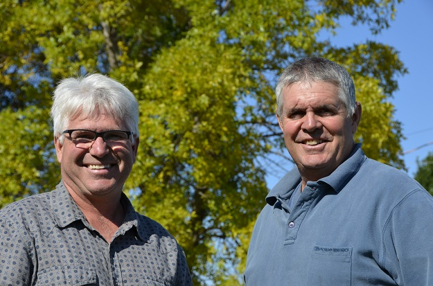 Jean et Paul Rousseau, frères, associés et complices. Crédit photo : Pierre Saint-Yves