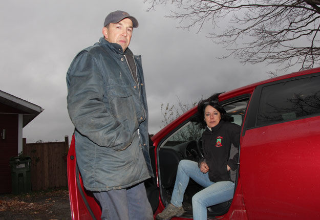Juan, le travailleur guatémaltèque embauché par Marielle Quirion et son conjoint André Perron, s'est enfui aux États-Unis en juin dernier. Crédit photo : Pierre-Yvon Bégin/TCN
