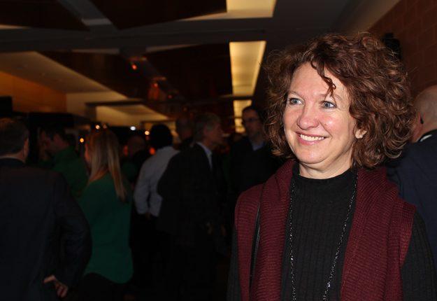 La directrice des maternités chez F. Ménard, Julie Ménard, estime que la communication avec le public fait partie des défis du futur. Crédit photos : Ariane Desrochers/TCN