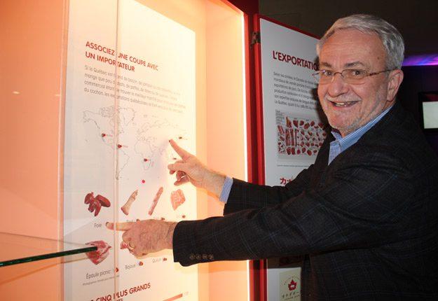 Le commissaire de l'exposition, Michel Morisset. Crédit photos : Ariane Desrochers/TCN