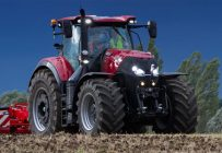 Le tracteur Case IH Optum 300 CVX. Photo gracieuseté de Case IH.