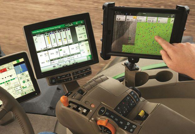 Console de guidage – semis à taux variable. Crédit photo: Deere and Company
