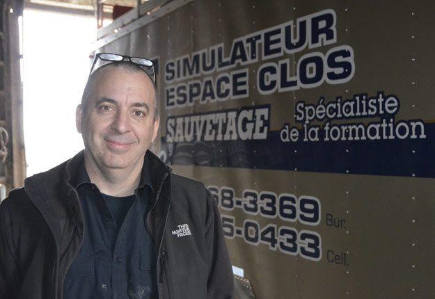 « Les producteurs et leurs employés ne sont pas conscients des risques qu'ils prennent », mentionne André Leblanc, de Sauvetage L'Aranéa. Crédit Photo - Pierre Saint-Yves