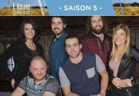 Les candidats de la cinquième saison de L'Amour est dans le pré. Gracieuseté de V.