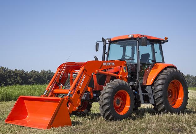 Le M6S-111 a été dévoilé à l'Agri Trade Equipment de Red Deer en novembre dernier. Crédit : Gracieuseté Kubota