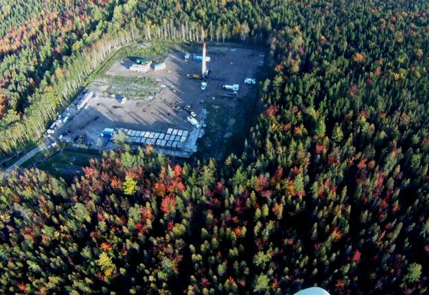 Le puits de Saint-Édouard-de-Lotbinière, dans la forêt seigneuriale Joly de Lotbinière. Crédit photo : Nicolas Lemay Bluteau