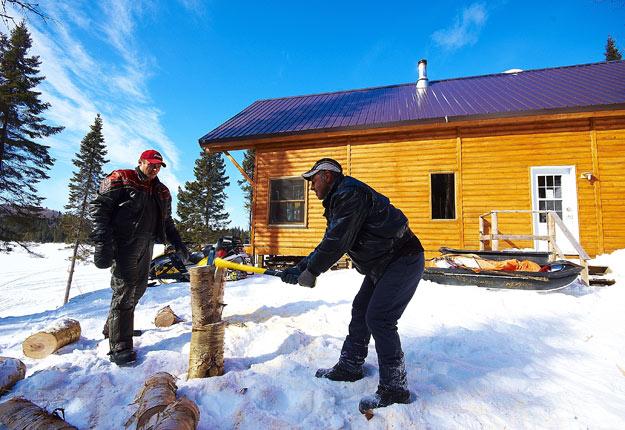 L'hiver 2017 aura été plus doux que la moyenne des dernières années. Crédit Photo : Martin Ménard/TCN