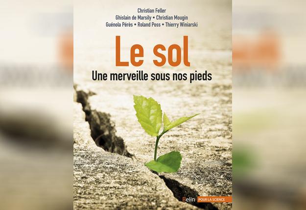 Le livre Le sol – Une merveille sous nos pieds contient une foule d'informations sur l'importance du sol et des organismes qui y vivent. Crédit photo: Les Éditions Belin