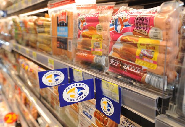 La grande notoriété de la marque Aliments du Québec peut attirer les fraudeurs. Les mesures de surveillance et de contrôle ont été renforcées ces derniers mois. Crédit photo : Archives/TCN