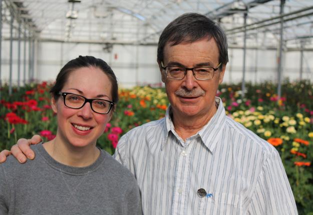 Amélie Lampron et son père, Jean-Denis Lampron, fondateur de Rose Drummond. Crédit photos : Charles Prémont