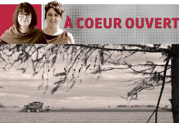Ginette Lafleur, doctorante en psychologie communautaire à l'UQAM et Nancy Langevin, travailleuse de rang dans Chaudière-Appalaches.