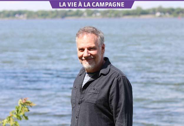 JiCi Lauzon veut parler du fleuve et de l'eau dans son nouveau spectacle. Photo : Thierry Larivière/TCN