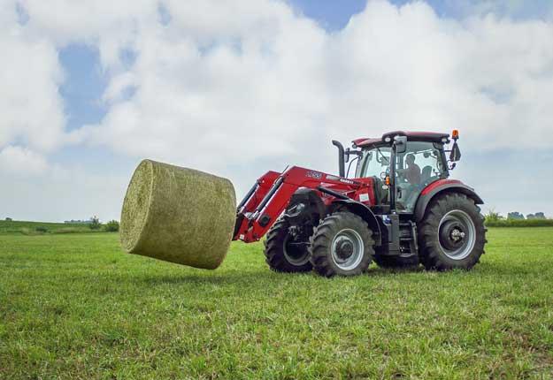 La prochaine génération de tracteurs de la série Maxxum® combine la flexibilité et la productivité que les opérateurs exigent pour le travail de sol et les tâches autour de la ferme familiale aux opérations commerciales les plus exigeantes. Photo : Gracieuseté