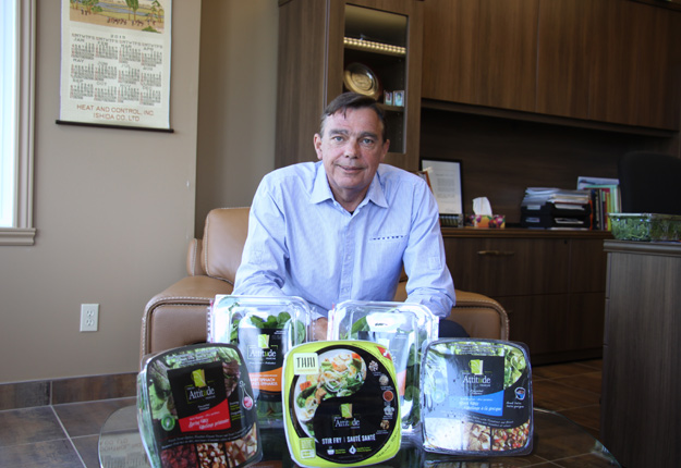 Le président de VegPro International, Gerry Van Winden. Crédit photo: Archives TCN