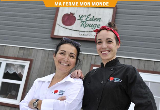 Anny Roy et sa fille Angèle-Ann constatent que la formation fidélise leurs employés. Crédit photo : Gracieuseté de L'Éden