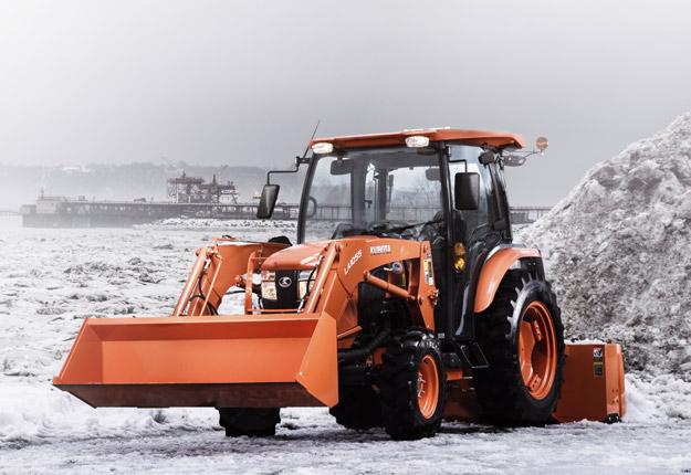 Pas de souci au démarrage, même à -40 °C, car les tracteurs Kubota sont conçus pour les hivers québécois. Crédit photo : Kubota