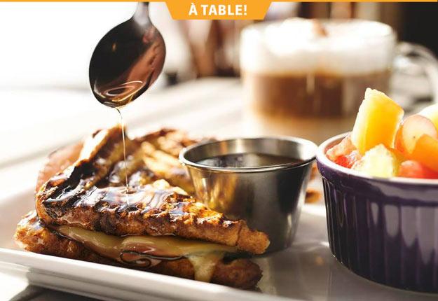 L'Exode Café, à Alma, offre des produits frais, de bonne qualité et issus de la région.