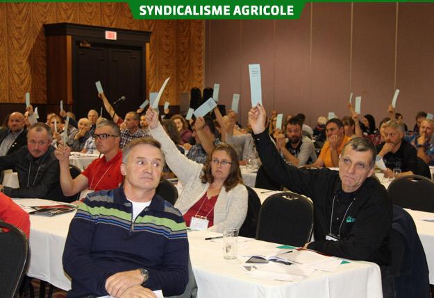 La centaine de délégués ont adopté 17 résolutions. Crédit photo : Julie Mercier/TCN