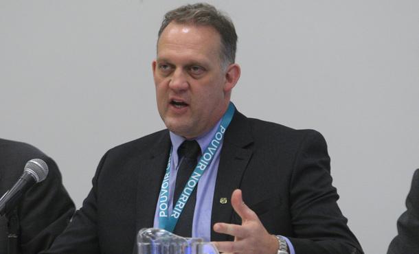 Martin Caron a été confirmé sans opposition au poste de premier vice-président.  Crédit: Archives TCN