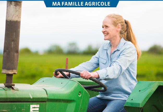 Marie-Claude Morin ne croyait pas reprendre la ferme familiale, mais a changé d'idée. « J'ai grandi dans l'agriculture. C'est un domaine que j'adore. Aujourd'hui, je suis extrêmement fière du métier que je fais et de nourrir les gens. Je ne le dis pas assez », souligne-t-elle. Crédit photo : Martin Ménard/TCN