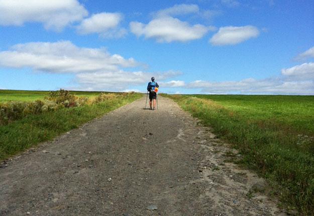 Le Chemin de Saint-Rémi offre des conditions idéales pour se ressourcer. Crédit photo : Gracieuseté du Chemin de Saint-Rémi