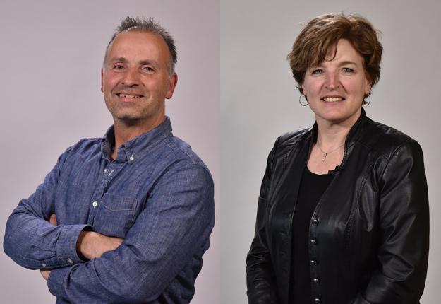Ghislain Pion, coprésident du PESCA, et Johanne Van Rossum, coprésidente du PESCA. Crédit : Gracieuseté PESCA
