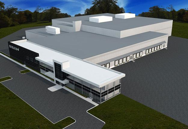 Plan du nouveau centre de distribution de Belœil. Crédit photo : Exceldor