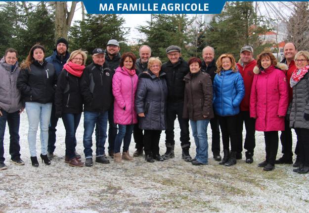 Chez les Berthiaume, toutes les occasions sont bonnes pour se réunir en famille. Crédit photo : Julie Mercier/TCN