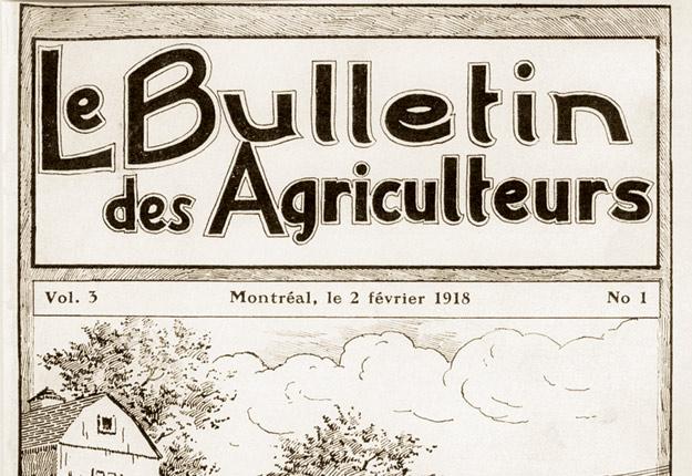 L'édition du Bulletin des agriculteurs du 2 février 1918.