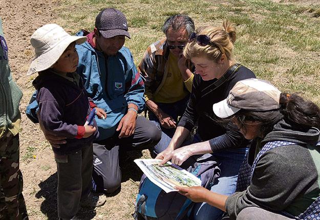 Même si les cultures sont différentes, les principes de gestion écosystémique sont les mêmes, de Saint-Michel-de-Bellechasse à l'Altiplano. Crédit photo: Gracieuseté de Marie-Hélène Noël