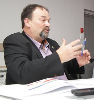 Le président de la Fédération des producteurs acéricoles du Québec, Serge Beaulieu. Crédit photo : Pierre-Yvon Bégin/TCN