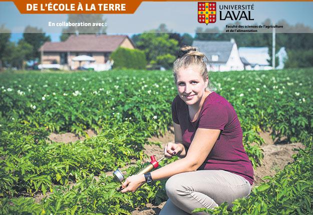 Depuis plus de 20ans, l'Université Laval diplôme deux fois plus de femmes que d'hommes en agronomie. Crédit photo: FSAA