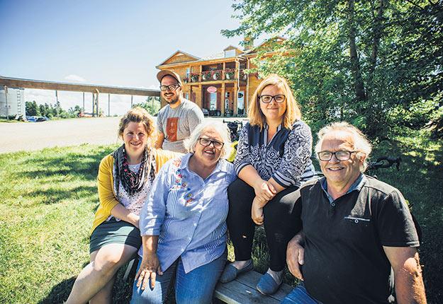 Le projet majeur de la famille Boivin-Côté a été refusé. Les entrepreneurs veulent maintenant des réponses à leurs questions. Photo gracieuseté de la famille Boivin-Côté.