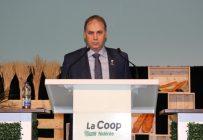 Le président de la Coop, Ghislain Gervais, à l'occasion de la 96e assemblée annuelle. Crédit photo : Julie Mercier/TCN